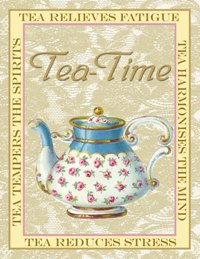 Tea-Time notecard